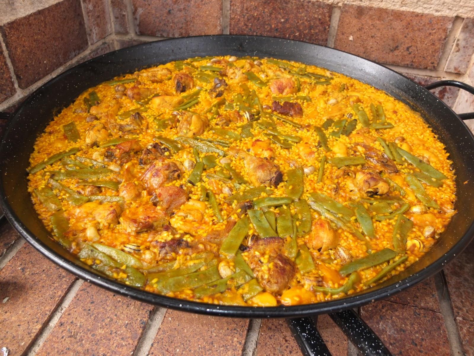 Resultado de imagen de paella valenciana