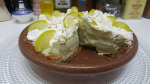 Avocado-Lime Cheesecake -Tarta de Aguacate y Lima