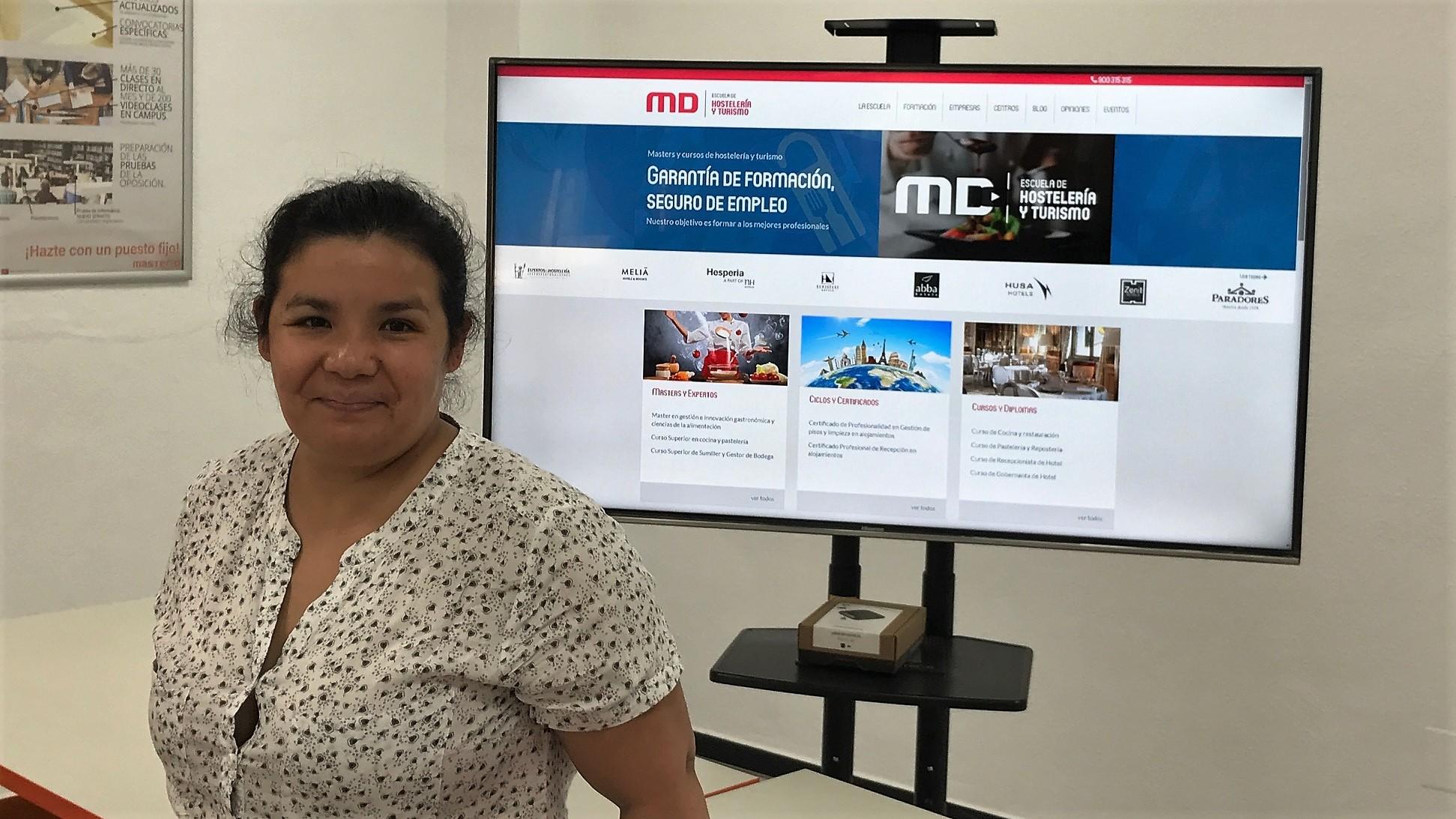 MasterD Alicante Opiniones: Zulma, alumna de Hostelería<
